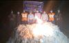 মেঘনায় ৩ নৌকাসহ ৮০ হাজার মিটার জাল জব্দ