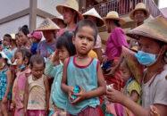 মিয়ানমারের পূর্বাঞ্চলে সংঘর্ষে ১ লাখ মানুষ গৃহহীন